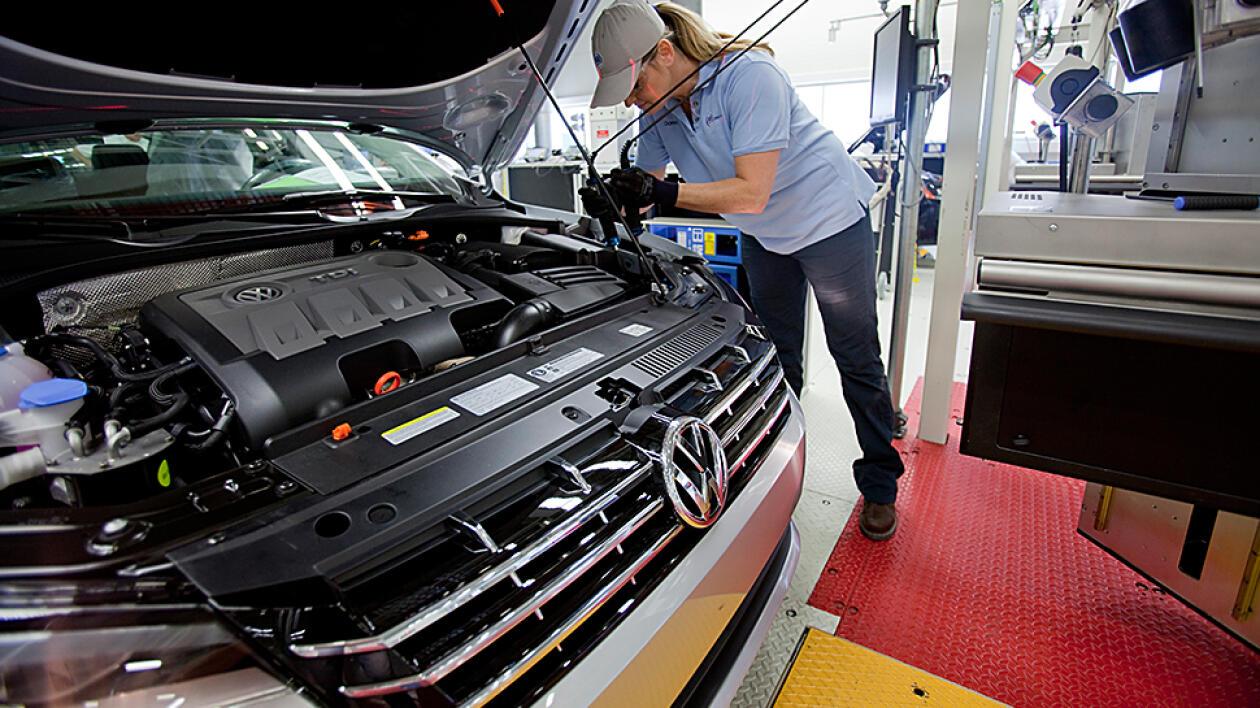 employment and volkswagen