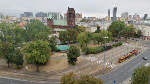 Plac Narutowicza do remontu. Pętla tramwajowa zostaje