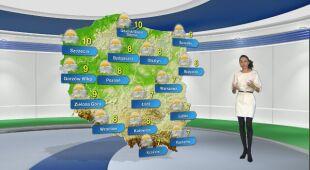 Prognoza pogody na poniedziałek 1.03