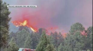W Nevadzie strażacy walczą z pożarem Tamarack