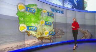 O pogodzie w najbliższych dniach mówi Agnieszka Cegielska
